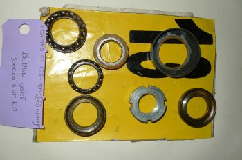 ZONTES ZT125 - 8A BREAKING.  BOTTOM YOKE SPECIAL NUT KIT  (CON-C)